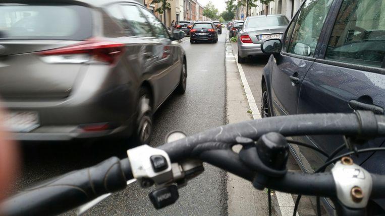 Fietsen in de Lindenstraat: een impressie achter het stuur.