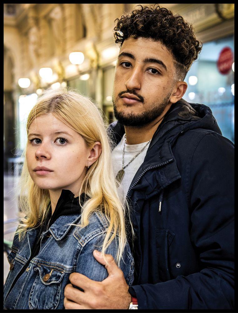 'Mijn broer was een doodgewone 17-jarige jongen, niet het typische Brussels-Arabische boefje voor wie men hem wegzet.' Beeld Saskia Vanderstichele