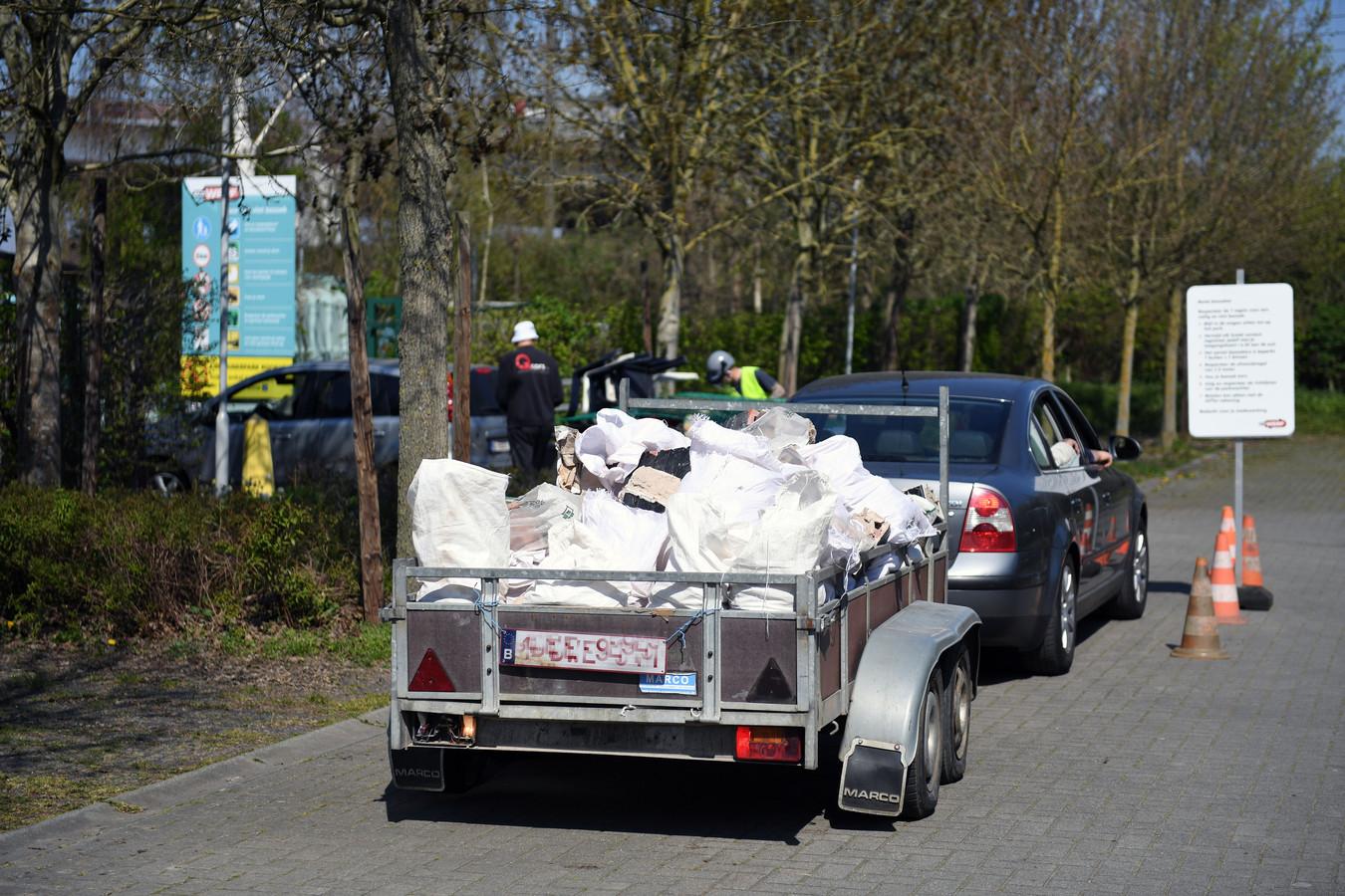 In de recyclageparken van EcoWerf werd in 2019 welgeteld 91.874 kilogram piepschuim ingezameld.