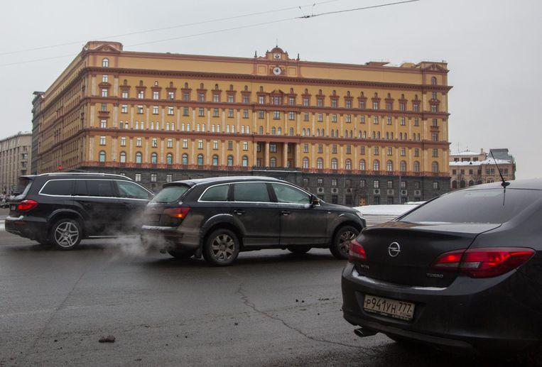 Het gebouw van de FSB in Moskou. Beeld epa