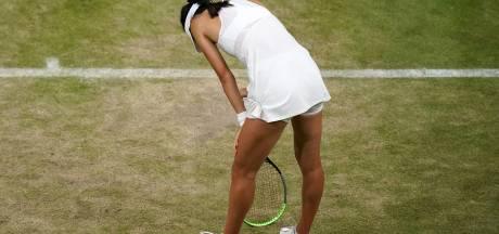 """La surprise britannique Raducanu abandonne en 8es de Wimbledon: """"Tout l'enjeu m'a rattrapée"""""""