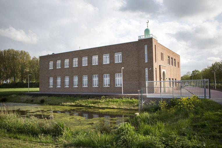De nieuwe moskee El Fatah in Bodegraven. Beeld null