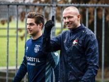Sven van Beek is fit en klaar voor kelderkraker van Willem II tegen ADO: 'Ik kan 90 minuten spelen'