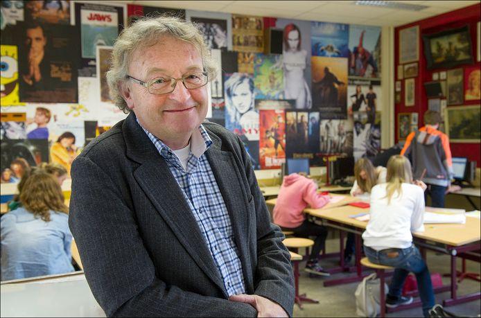 Jacques Marsmans, hier op een foto uit 2013, verlaat het Elzendaalcollege. Hij gaat op 1 december met pensioen.