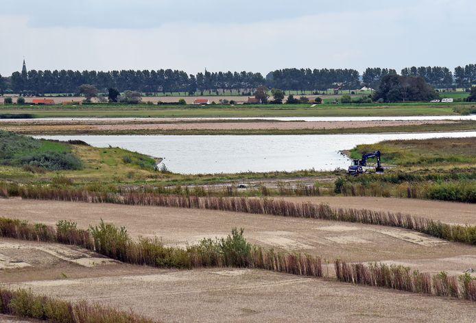 Natuur- en recreatieproject Waterdunen bij Breskens.