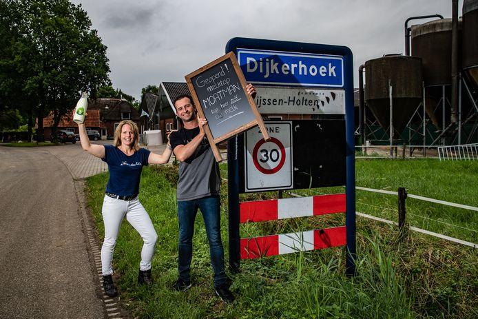 De wens om een eigen melktap te open in Dijkerhoek is voor Arno en Anneke Meijerman donderdag uitgekomen.