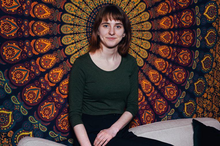 Sophie Van Cauwelaert schreef een bachelorproef over 'obstetrisch geweld' in de verloskamer.  Beeld Damon De Backer