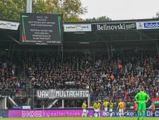 LIVE | Vitesse met voorsprong de rust in na heetgebakerde eerste helft in Nijmegen