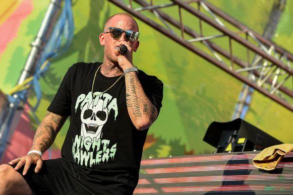 De Nederlandse rapper Jebroer.