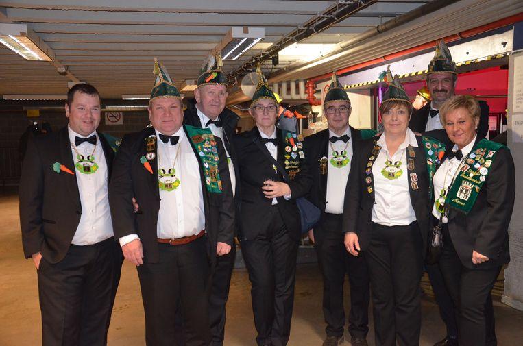 De organisatoren van het Feest der Senioren, de stedelijke feestcommissie.