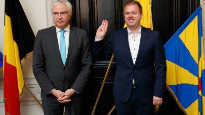 Bert Maertens legt opnieuw de eed af als burgemeester