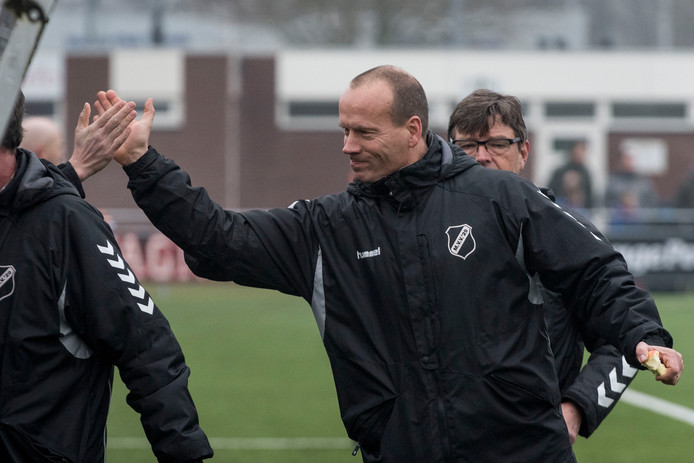 Richard Telgenhof Oude Koehorst, hier op archieffoto, is komend seizoen toch niet de trainer van KOSC.