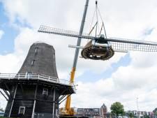 Oudste Ommer molen kan bijna weer draaien, in elk geval voor de prins