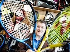 Toptennisster Serena Williams liet haar racket bespannen door Hengeloër Evert Jan Nijhoff: