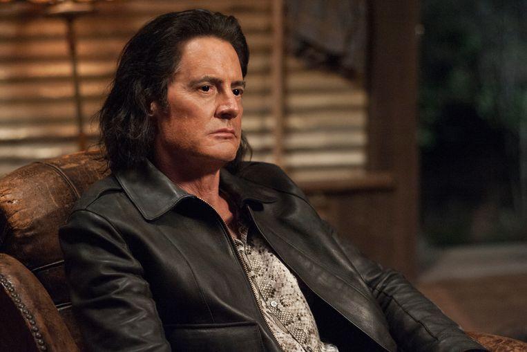 Kyle Maclachlan als de dubbelganger van Dale Cooper in het derde seizoen van Twin Peaks. Beeld Suzanne Tenner/SHOWTIME