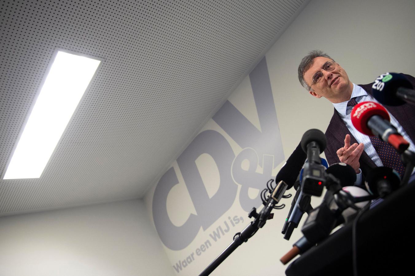 Joachim Coens, un président sous les feux des projecteurs