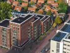 Trapvormig statig Posthuys vult straks krater in stadscentrum Spijkenisse op