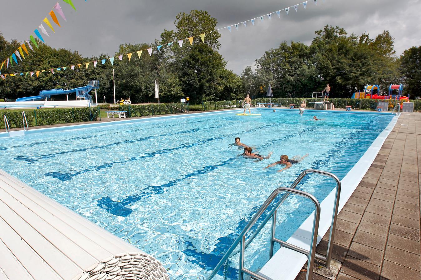 Het openluchtbad in Hasselt gaat vrijdag open.
