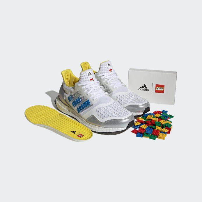 LEGO et Adidas dévoilent des sneakers à personnaliser avec des briques.