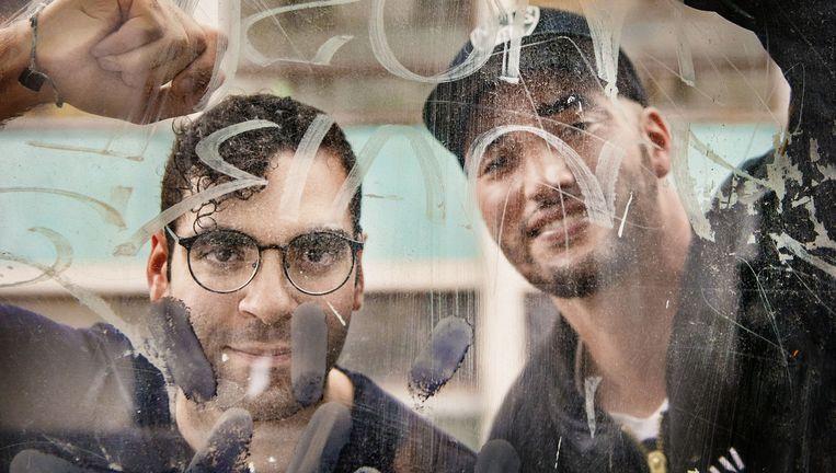 Adil El Arbi en Bilall Fallah vertrekken vandaag naar Hollywood om er een tv-reeks te maken. Beeld Eric De Mildt