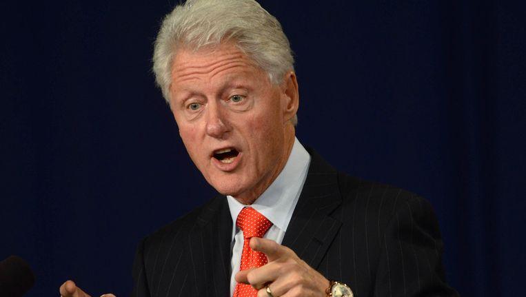 De gewezen Amerikaanse president Bill Clinton. Beeld AFP