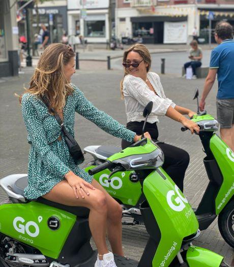 Go Sharing haalt scooters deels naar binnen rond Nieuwjaar: 'Willen politie geen extra werk bezorgen'