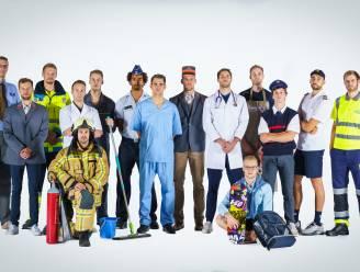 Knack Roeselare eert via creatieve ploegfoto mensen die het zwaar hebben gehad tijdens coronacrisis