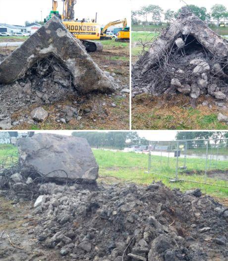 Schakelbunker 'per ongeluk' gesloopt bij bouwwerkzaamheden Vlissingen