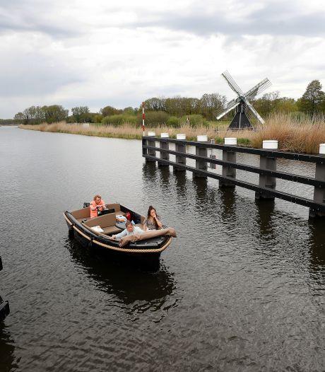 Al varend dromen over (on)mogelijkheden van de Oude IJssel; strandjes, mangrovebossen en dijkwoningen
