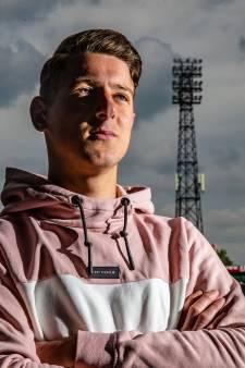 GA Eagles-doelman Sven Jansen (16), een prachtig verhaal uit een jongensboek: 'Ik keep pas drie jaar en speel nu al bij een eredivisieclub'