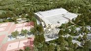 Olympiër Pieter Timmers legt eerste steen nieuw sportcomplex