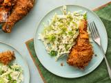 Recept van de Dag: Fried chicken en coleslaw