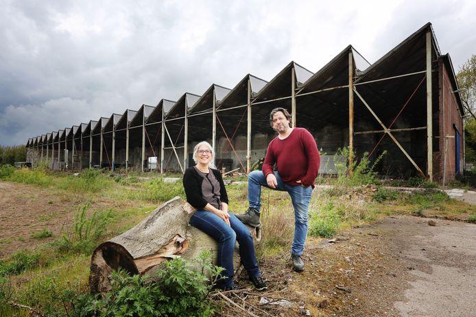 Michiel van Gremberghe en Hellen de Kanter van Studio ID voor de Lamonthal, hun nieuwe werkplek.