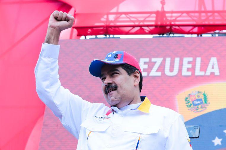 Venezolaans president Nicolás Maduro