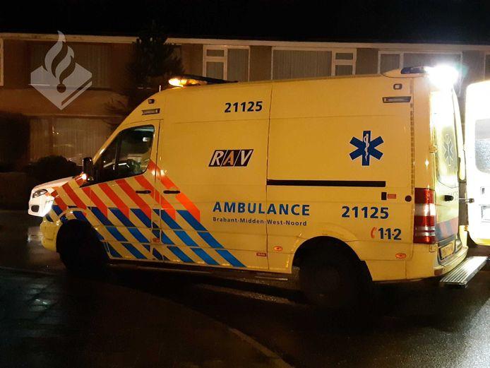 Ambulance in Veghel.