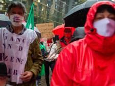 """Manifestation des syndicats à Bruxelles: """"Le virus qu'il faut combattre, c'est la pauvreté"""""""