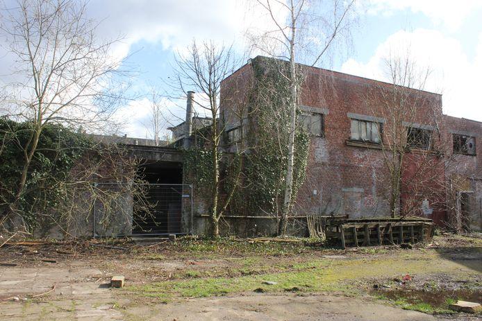 De site Keirlandse Zillen ligt er nu verloederd bij.