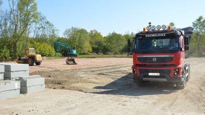 Aanleg parking landschapspark Waverwoud is gestart