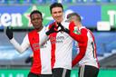 Steven Berghuis maakte de 4-0 voor Feyenoord.