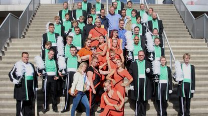Showband Calypso bij Europese top