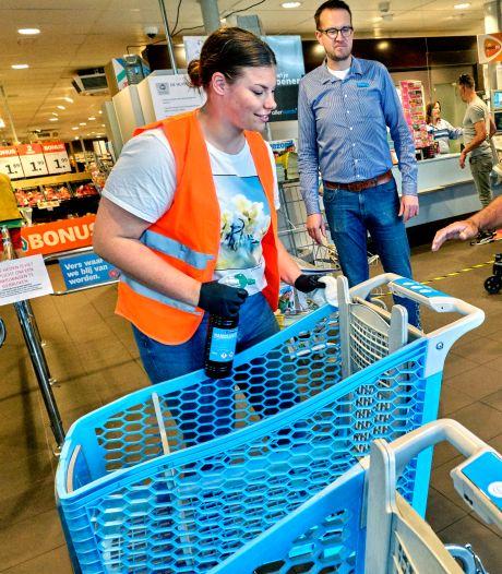 Personeel supermarkt wordt dagelijks uitgescholden om coronabeleid: 'We zijn er klaar mee'