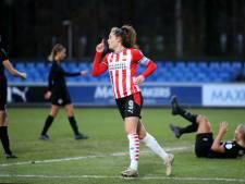 PSV Vrouwen sluit bewogen 2020 af met zege op Heerenveen