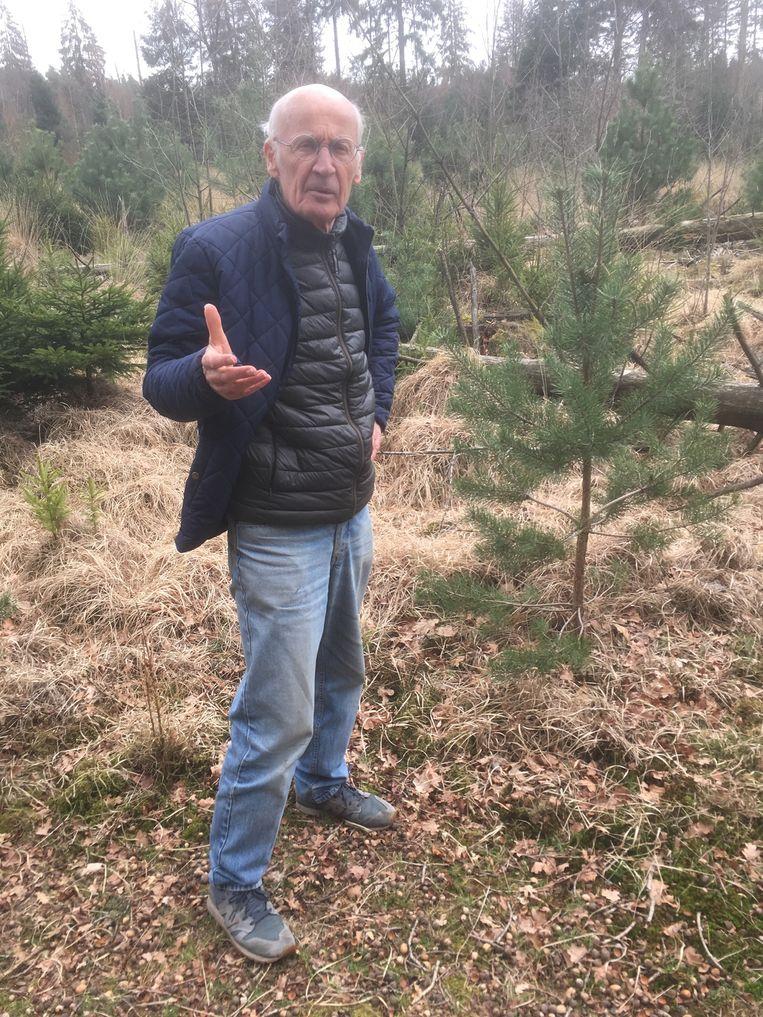 Rob Chrispijn, tegenstander van de boskap. Beeld Mac van Dinther