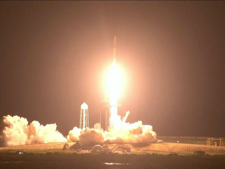 Lancering geslaagd: SpaceX brengt astronauten naar ISS