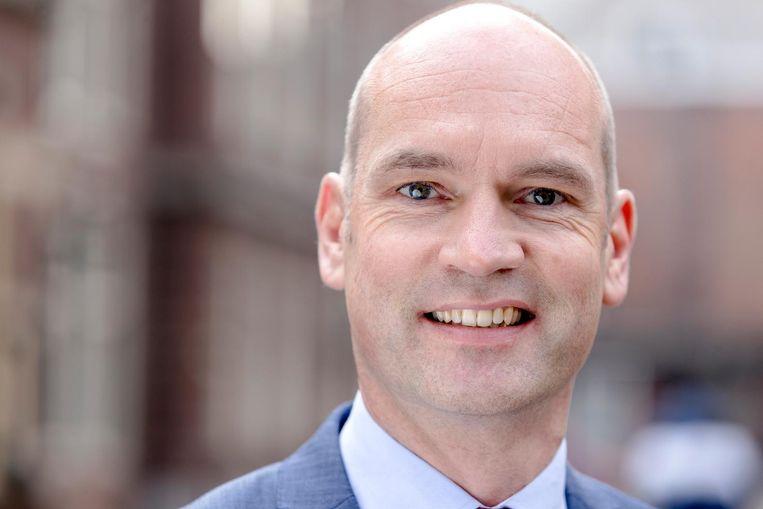 Gert-Jan Segers, fractievoorzitter van de ChristenUnie. Beeld anp