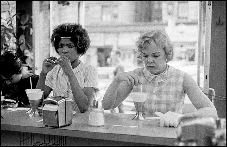 USA. New York City. 1962. Black Americans. Beeld © Bruce Davidson / Magnum Photo
