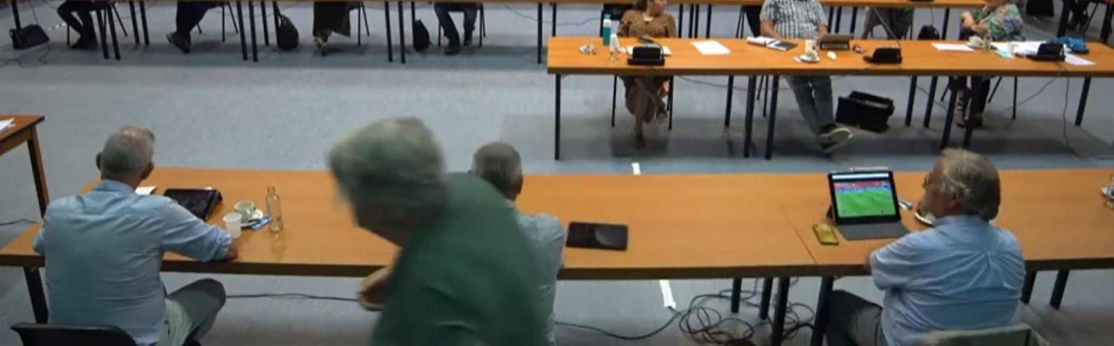 Beeldverslag raadsvergadering Roosendaal op 17 juni 2021.