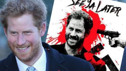 """Britse neonazi's eisen de dood van prins Harry: """"Tot ziens, rasverrader"""""""