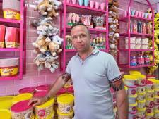 Zoetigheidwalhalla met een vleugje kermis op de Nieuwe Markt: 'Knalroze is ons trademark'
