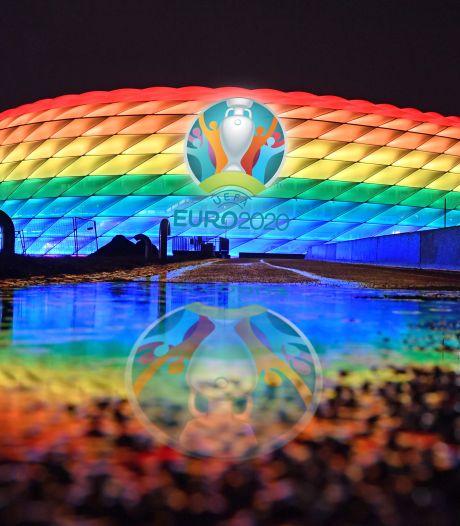 UEFA verbiedt regenboogstadion in München bij duel Hongarije en komt met ander voorstel